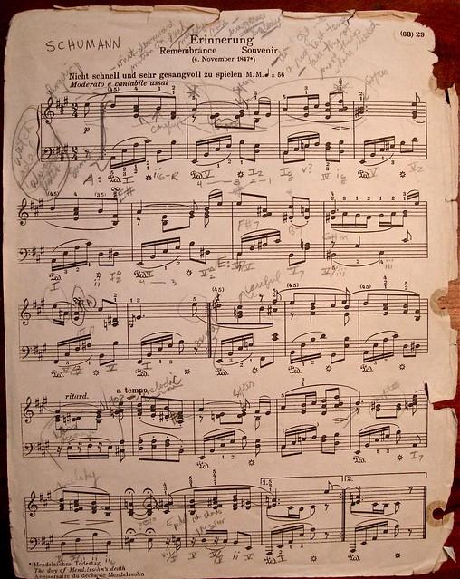 """Schumann's """"Erinnerung"""""""