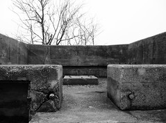 Platform Skid, Battery Croghan, Fort San Jacinto, Galveston, Texas 0116101743BW