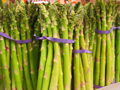 crop(0.0), plant stem(0.0), vegetable(1.0), asparagus(1.0), produce(1.0), food(1.0), asparagus(1.0),
