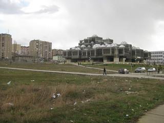 National Library in Prishtina, Kosovo