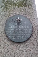Photo of John Henry Gurney grey plaque