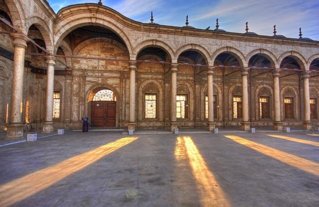 Courtyard Sunlight