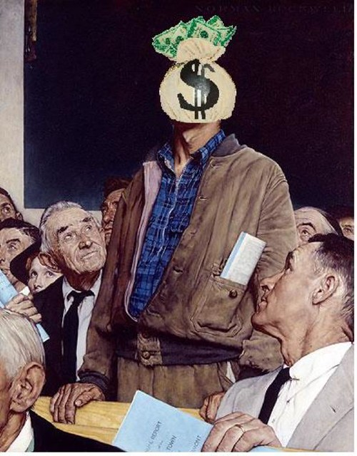 Freedom of Speech, after Norman Rockwell and the US Supreme Court