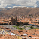View of Cusco's Plaza de Armas - Peru