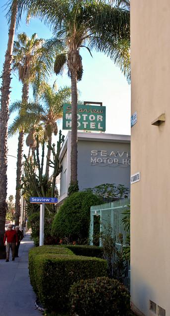 seaview motor hotel santa monica california flickr