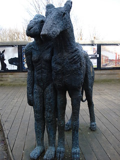 Folkestone random rabbit sculpture