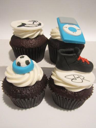 Fondant Soccer Ball Cake