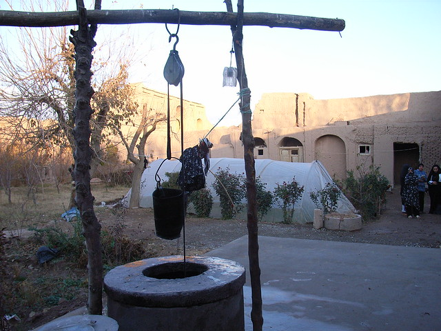 Shallow water well in traditional house flickr photo sharing - Household water treatment a traditional approach ...