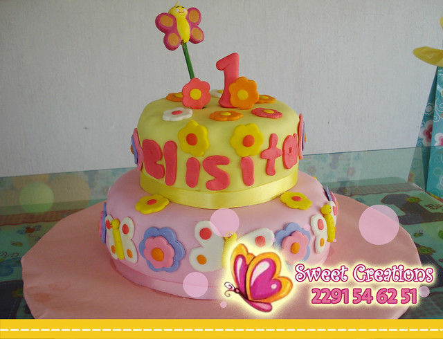 PASTEL NIÑA PRIMER AÑO | Flickr - Photo Sharing!