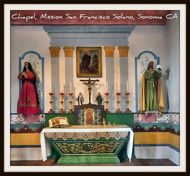 Chapel Mission San Francisco Sonoma Ca Flickr Photo