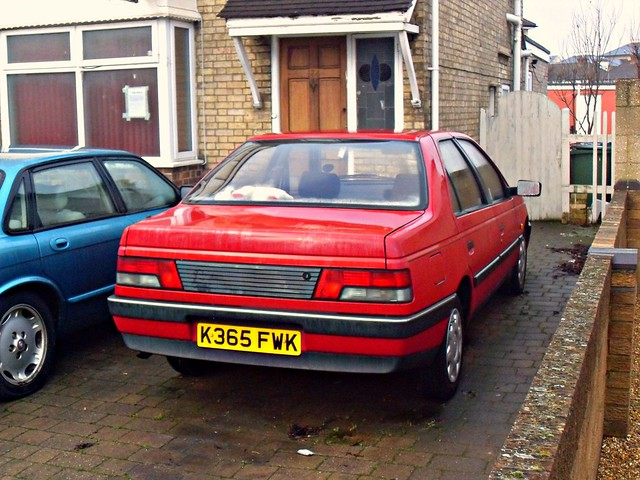 1993 Peugeot 405 1.6 GL | Flickr - Photo Sharing!