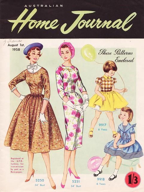 Australian Home Journal - Cover
