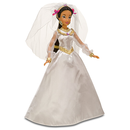 Jasmine Deluxe Wardrobe Bridal Gown Posted to Epic Post Disney Princess