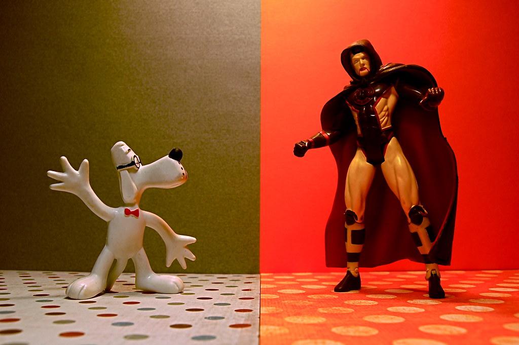 Mister Peabody vs. Hourman (61/365)