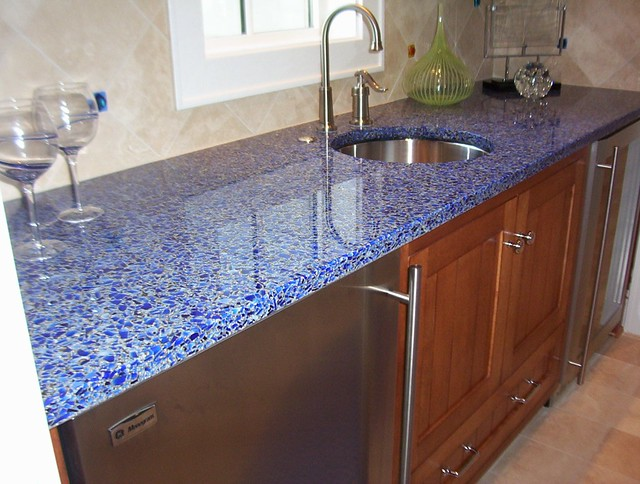 Alternatives To Granite Countertops : Vetrazzo alternative to granite countertops (131) Flickr - Photo ...