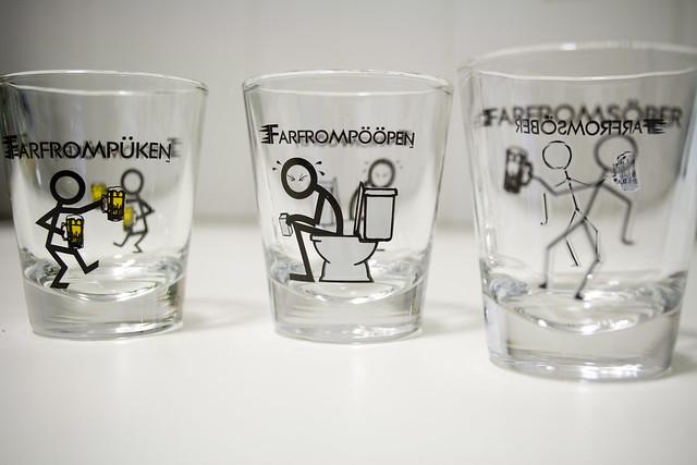 Classy Shot Glasses