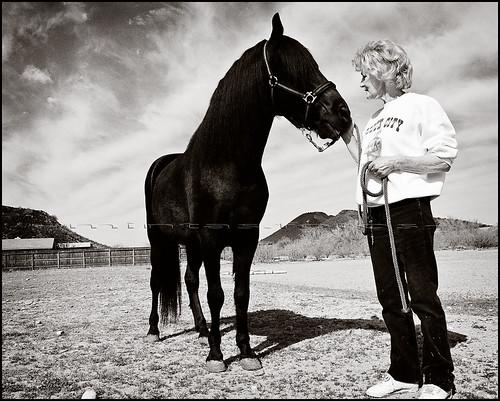 ~Bolero & his owner Charlie