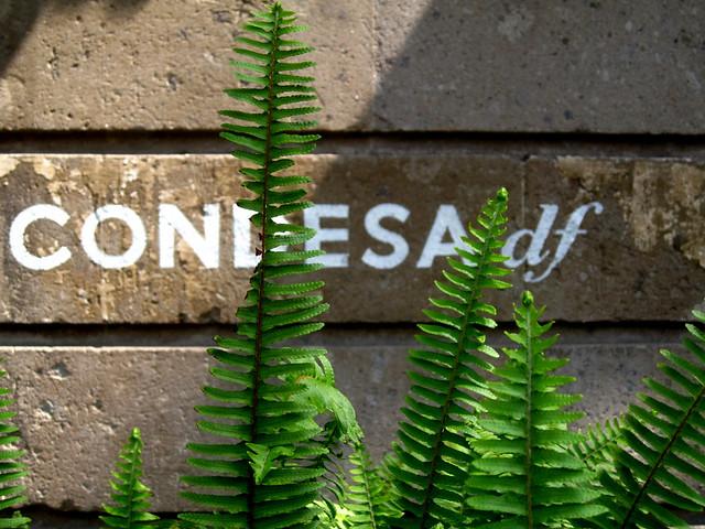Condesa DF Sign