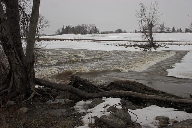 Red Lake River Dam 3/13