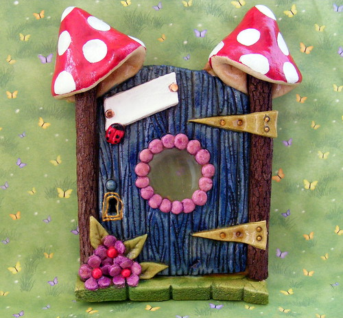 Salt dough Fairy Door