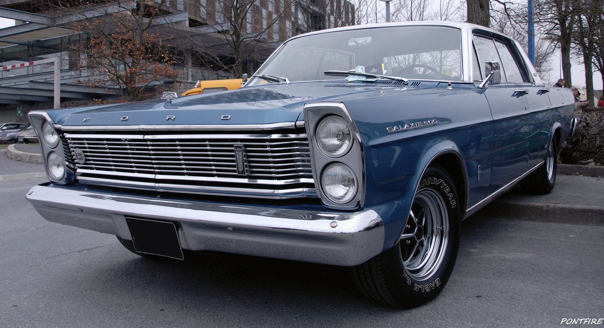 1965 Ford Galaxie 500 4-Door Pillarless Hardtop | Flickr ...  1965 Ford Galax...