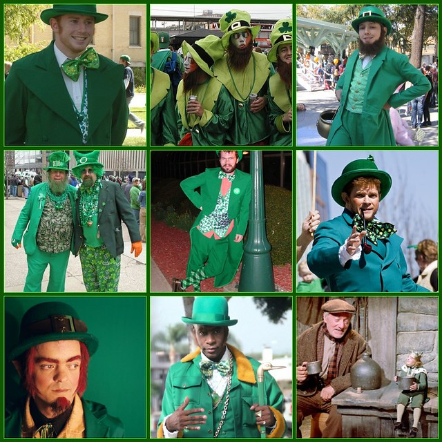 Leprechauns for St. Patrick's Day!!!