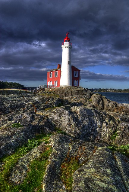 Fisgard Lighthouse (HDR)