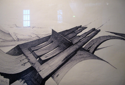Dessin claude parent flickr photo sharing for Architecture utopiste