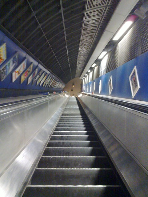 London Bridge at 1830 - #emptyunderground