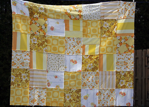 Yellow Picnic Blanket