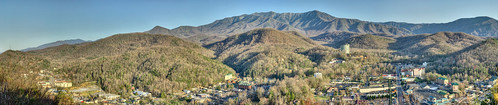 park county city panorama ski mountains town mt lift tn tennessee great mount national le smokey gatlinburg overlook hdr conte sevier gsmnp cityporn rcityporn