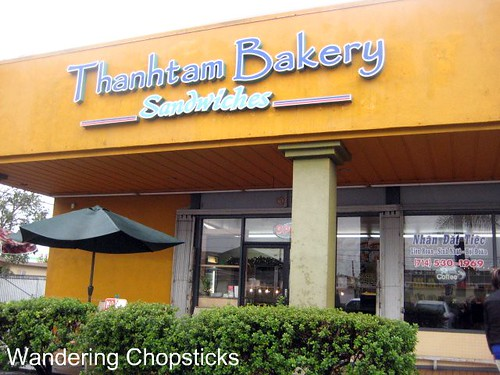 Wandering Chopsticks Vietnamese Food Recipes And More Thanh Tam Bakery Garden Grove