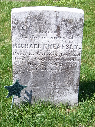 Sacred to the Memory of Michael Kneafsey