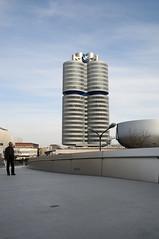 Il palazzo e il museo della BMW a Monaco