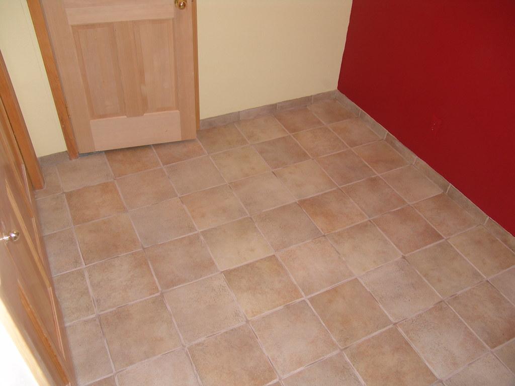 Ceramic Tile Mud Room Entry