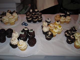 Cupcakes from Sugar Bakery