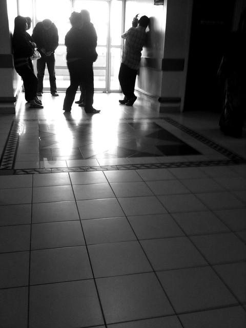 Waiting outside ICU