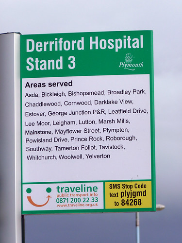 Derriford Bus Stop
