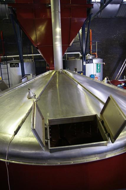 Mash Tun @ Tullibardine Distillery