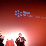 Peter Bogdanovich talking about Orson Welles @tcm screening of Lady Shanghai #TCMSanFran