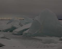 Lake Ontario Ice Mountains