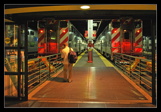 Commuter trains - Chicago Union Station