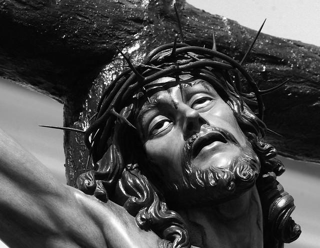 Viernes Santo. Cristo de la Agonía (detalle)