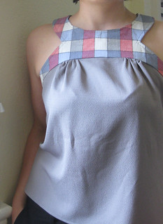 Project Runway pattern blouse--unbelted