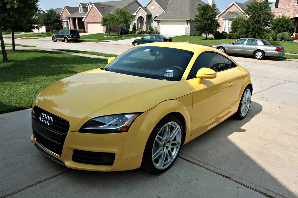 sold 2008 audi tt 3 2 quattro s line 6mt low miles audi exclusive paint. Black Bedroom Furniture Sets. Home Design Ideas