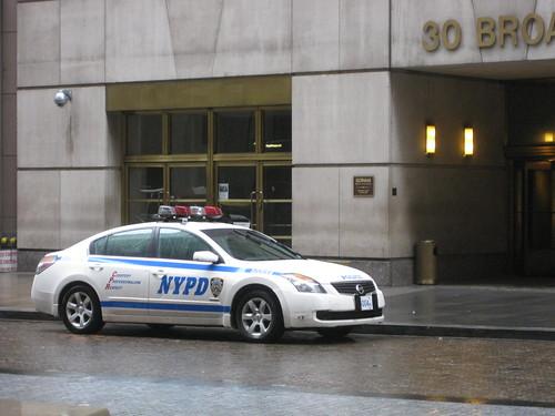 nissan police car?