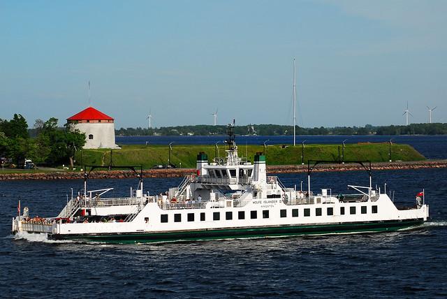 Wolfe Island Ferry From Kingston