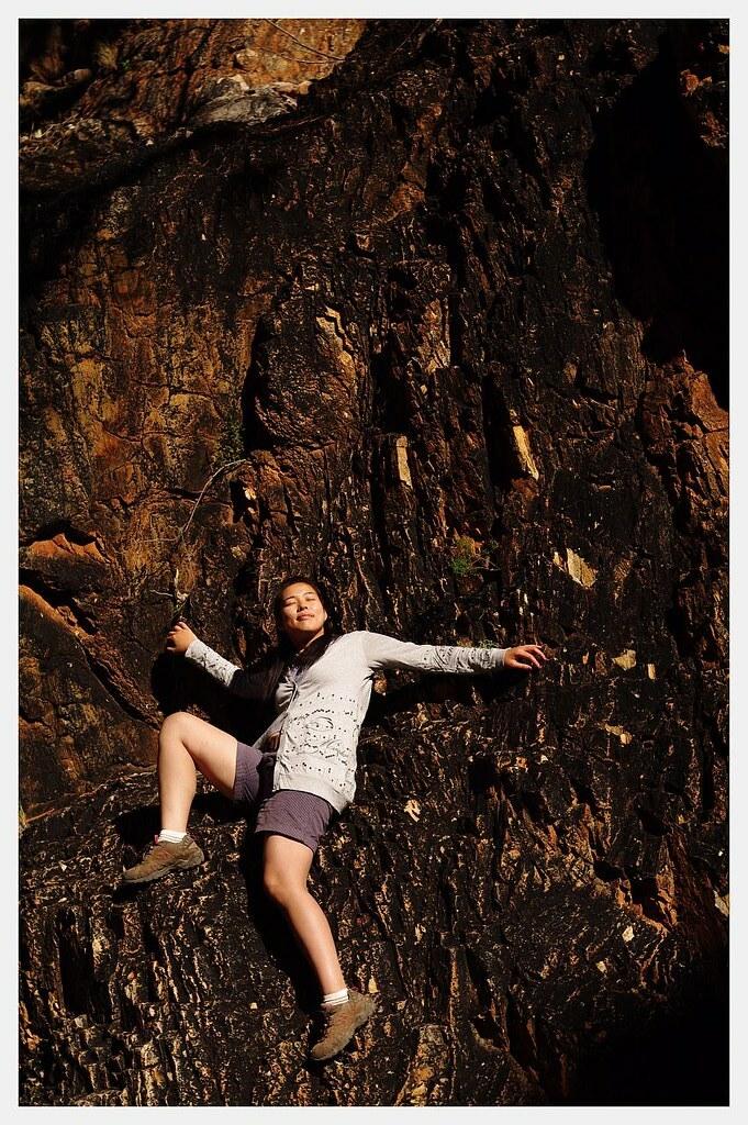 Yuka at Stanley Chasm