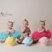 Triplets Cake Smash by Kristielarsenphotography