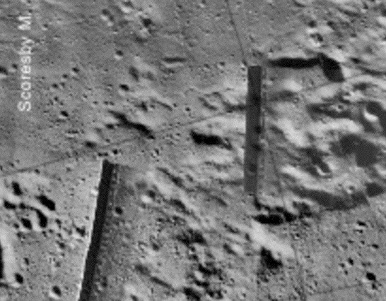 astronauts find structures on moon - photo #40
